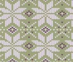 I could picture piecing a quilt that from on of the retro Danish sweater patterns I have. skandinavian craft geometry fabric by katja_saburova on Spoonflower