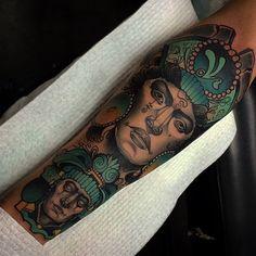20 Amazing Mexican Tattoo Designs - Skulls, Mafia, Eagles, Flag, Gang