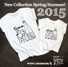 T-shirt new seasons for mom and child - www.momeme.it
