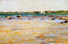 Westerholm, Victor/ Archipelago Archipelago, Boat, Sky, Landscape, Water, Artist, Paintings, Scandinavian Paintings, Finland