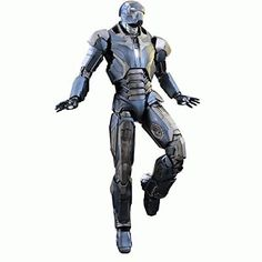 Hot Toys Marvel Iron Man 3 Iron Man Mark XL 40 Shotgun 1/6 Scale Figure