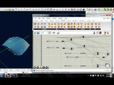 Mapping Curves to Surfaces in Grasshopper - YouTube