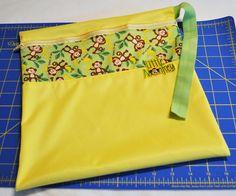 Blog | Zippered Wet Bag Tutorial | Babyville Boutique™