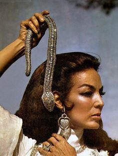 'Collar Serpiente', el lujoso pedido que hizo María Félix a Cartier en 1968