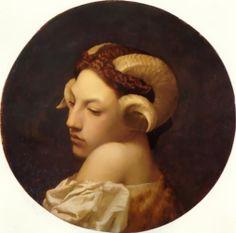 The Bacchante - Oil on canvas - Jean-Leon Gerome - c. 1853