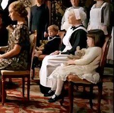 Downton Abbey Season 5 Little Sybbie and Little George