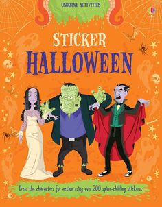 """""""Sticker Halloween"""" at Usborne Books at Home Organisers Halloween Uk, Halloween Stickers, Spirit Halloween, Halloween Themes, Zombies, Book Activities, New Books, Monsters, Gift Ideas"""