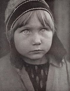 Saami Girl from Finnmark Norway, Photo 1930's by saamiblog, via Flickr