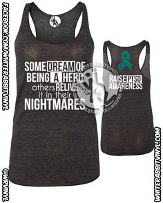 PTSD Awareness Women's Tank Top Relive The by WhiteRabbitVinylLite, $24.95