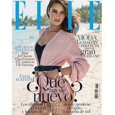 Cuenta atrás para el verano! Nos ponemos en modo 'summer' con la modelo @karmen_pedaru 'cover girl' de nuestro próximo número #ELLEjunio.  [Fotografía: @xavigordo / Realización @inmajimenezelle / Maquillaje y peluquería @vickymarcosg para @diormakeup y @ghdspain] (A la venta el 19 de mayo) #summer #karmenpedaru #elle #juneissue #ellespain #lovesummer  via ELLE SPAIN MAGAZINE OFFICIAL INSTAGRAM - Fashion Campaigns  Haute Couture  Advertising  Editorial Photography  Magazine Cover Designs…