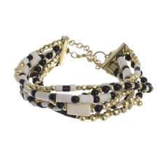 Welcome to Blε - Ble Resort Collection Colorful Bracelets, Jewelry Bracelets, Jewellery, Jewelry Accessories, Black And White, Gold, Leather, Collection, Fashion