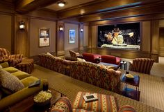 I don't really care for movie rooms...but I am willing to make an exception for this one