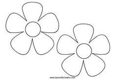 disegni fiori da ritagliare - Cerca con Google