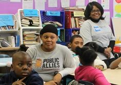 Volunteers working with Allies in New York for Martin Luther King Service Day