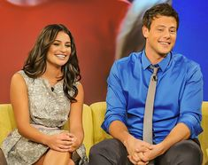 Cory Glee, Glee Cory Monteith, Lea And Cory, Glee Club, Cutest Couple Ever, Perfect Together, Tv Couples, Great Tv Shows, Lea Michele