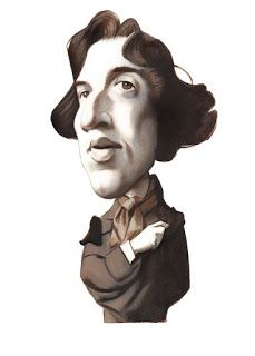 Oscar Wilde - Portraits - Writers by Fernando Vicente Spanish Painters, Spanish Artists, Oscar Wilde, Satire, Caricatures, Hunger Games Characters, Writers And Poets, Look At The Stars, Art Graphique