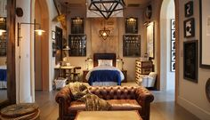 love this boys room... good ideas for when BB gets bigger... Restoration Hardware Baby & Child