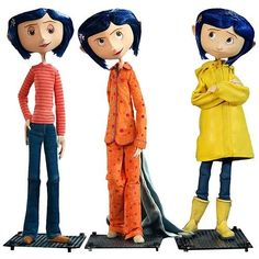 Look up Coraline poses to add life to your poses when drawing. Also the Coraline dolls in general fascinate me. Coraline Jones, Coraline Movie, Coraline Doll, Coraline Drawing, Coraline Aesthetic, Estilo Tim Burton, Stop Motion Movies, Coraline Film, Caricatures