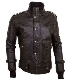 high fly men brown leather jacket ushttp://leatherjacketus.com/product/high-fly-mens-brown-bomber-leather-jacket/