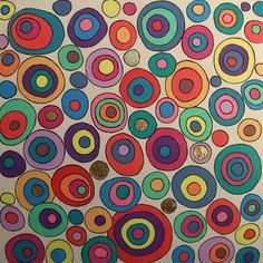 Funky circles painting in acrylics Classroom Art Projects, Art Classroom, Painted Pots, Hand Painted, Kandinsky, Gel Pens, Baby Cards, Air Plants, Abstract Art
