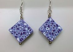 Purple Triangles by beadsbyme4u on Etsy.