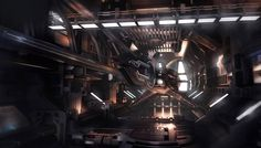 concept ships: Spaceships with interiors by Encho Enchev