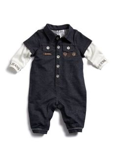GUESS Kids Boys Baby Long-Sleeve Coveralls « Clothing Impulse