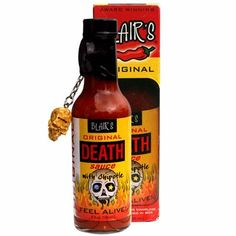 Shop Blair's Chipotle Marinade Sauce at Lowe's Canada. Hottest Chilli Sauce, Marinade Sauce, Chipotle, Hot Sauce Bottles, Beer Bottle, Death, The Originals, Drinks, Dining