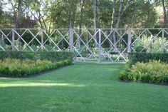 The Landscape Designer Is In: Elegant Deer Fencing, Hamptons Edition : Gardenista