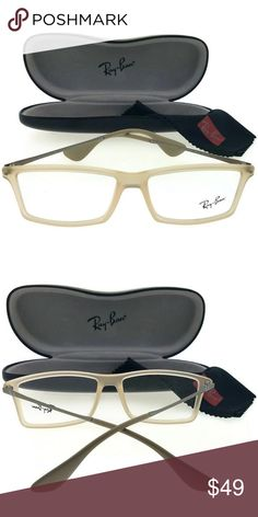 1c0fa7e530e2 RX7021-5369 Men s Light Brown Frame Eyeglasses
