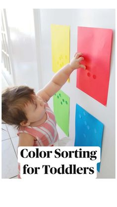 9 Month Old Baby Activities, Baby Learning Activities, Educational Activities For Preschoolers, Fun Activities For Toddlers, Infant Activities, Fun Learning, Toddler Games, Toddler Play, Color Sorting For Toddlers