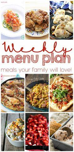 Weekly Meal Plan #5 - Lemons for Lulu - Food and Recipe Blog
