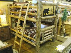 Bradley's Utah Log Furniture - Rustic Aspen Log Bedroom Collection