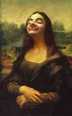 Mr-Bean-As-Mona-Lisa