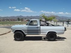 Awesome 1967 Bumpside Ford F-100 PreRunner