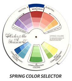 Color Selector - Spring - Color Me A Season Store