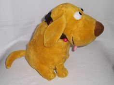 disney stuffed animals | ... UP Movie Plush Talking Lights-Up Dog Dug Doug Brown Stuffed Animal Toy