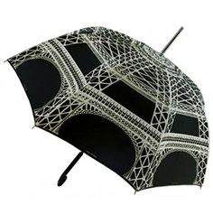 One of my favs. I also love it when the black & white are reversed. ~Guy de Jean Eiffel Tower Umbrella Black