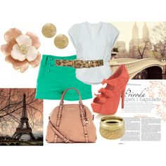 """Summertime in Paris"" by mademoiselle-secreta on Polyvore"