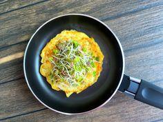 Omlet z kiełkami