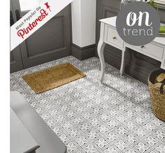 Laura Ashley Mr Jones Floor Tiles Charcoal Heritage Collection 331mm x 331mm LA52000 9 Til