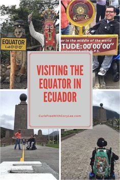 Being in the middle of the world was a bucket list item for me and I was finally able to sit on the equator while in Ecuador. There's more to visiting the equator than just standing (or sitting) on the line, and in this article I explain what all there is to see and do. Explore the equator in Ecuador with me!