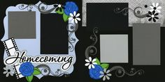 Homecoming Scrapbook Page