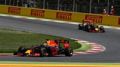 Daniel Ricciardo (AUS) Red Bull Racing RB12 leads Max Verstappen (NED) Red Bull Racing RB12 at Formula One World Championship, Rd5, Spanish Grand Prix, Race, Barcelona, Spain, Sunday 15 May 2016. © Sutton Images