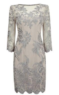 Morpheus Boutique  - Grey Celebrity Jacquard 3/4 Sleeve Hemline Designer Pencil Dress, $79.00 (http://www.morpheusboutique.com/products/grey-celebrity-jacquard-3-4-sleeve-hemline-designer-pencil-dress.html)