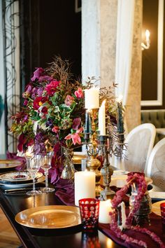 Neo Gothic Wedding Inspiration