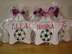 Personalized Kids Party Favor Soccer Room Sign- Team trophies- All Sports, Basketball, Soccer,, Base Soccer Room, Soccer Theme, Soccer Party, Ball Birthday Parties, Birthday Party Decorations, Personalized Party Favors, Kid Party Favors, Room Signs, Christmas Bulbs