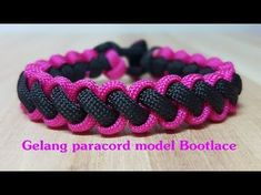 How to Make a Snake Knot Viceroy (Paracord) Bracelet by TIAT - YouTube