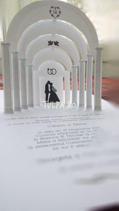 Invitatii de nunta handmade elegante sau haioase | Creative Ideas Design