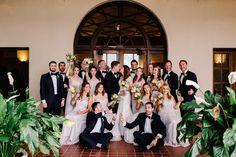 Large bridal Party Ideas. Detroit Wedding. Detroit Yacht Club Wedding.